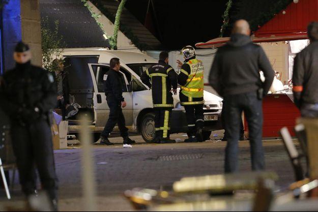 Les lieux du drame, à Nantes