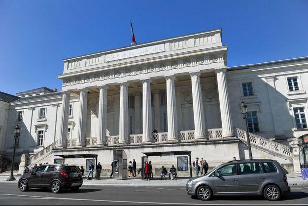 Le palais de justice de Tours, en 2015.