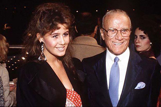 Patricia et Aldo Gucci, la mère et le grand-père d'Alexandra Zarini.