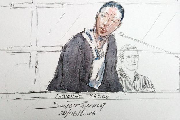 Fabienne Kabou lors de son procès