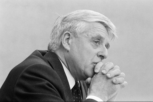 Robert Boulin, en octobre 1979 à Paris.