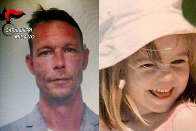 Le suspect, Christian B. et la petite Maddie.