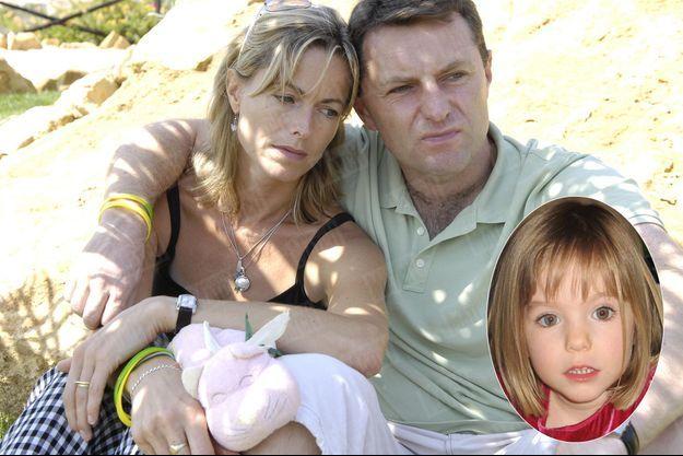 Les parents de Maddie, Kate et Gerry McCann, posent pour Match dans le jardin de la maison qu'ils ont louée au Portugal, après une interview vérité. Kate tient entre ses mains Cuddle Cat, le doudou de Maddie, dont elle ne se sépare jamais depuis la disparition de sa fille. En médaillon, la petite Maddie