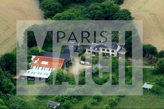 La ferme de Stang à Pont-de-buis, où ont été trouvés des fragments de corps humains.