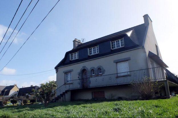 La mère du suspect vit recluse dans ce pavillon de Plouguerneau.