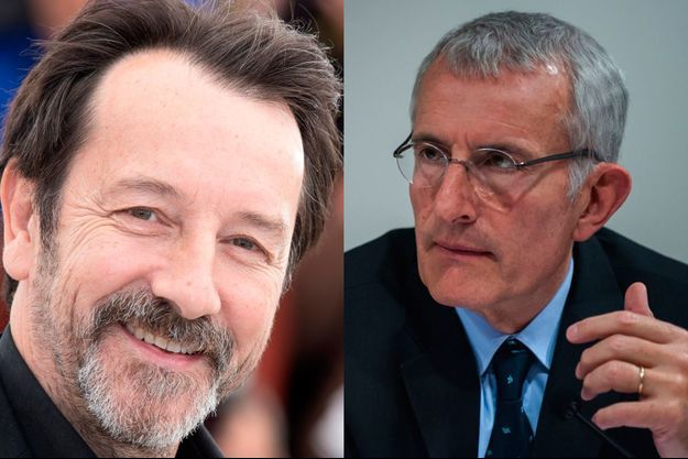 Jean-Hugues Anglade et Guillaume Pepy