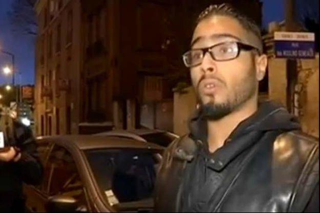 Jawad Bendaoud le 18 novembre dernier à Saint-Denis.