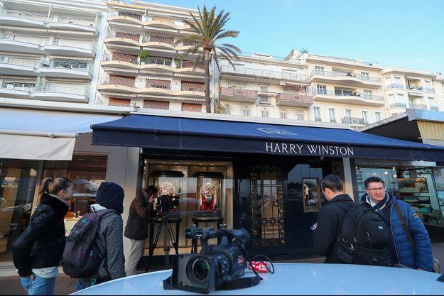 La bijouterie Harry Winston braquée à Cannes