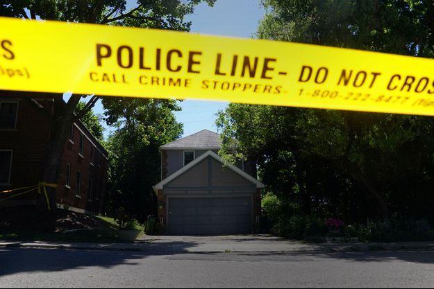 La maison du serial-killer canadien Bruce McArthur.