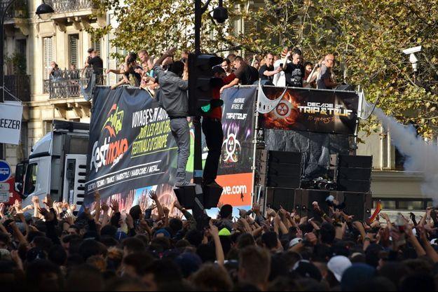 La Techno Parade de Paris.