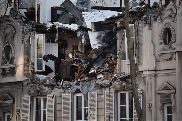 L'explosion s'est produite vers 15 heures.