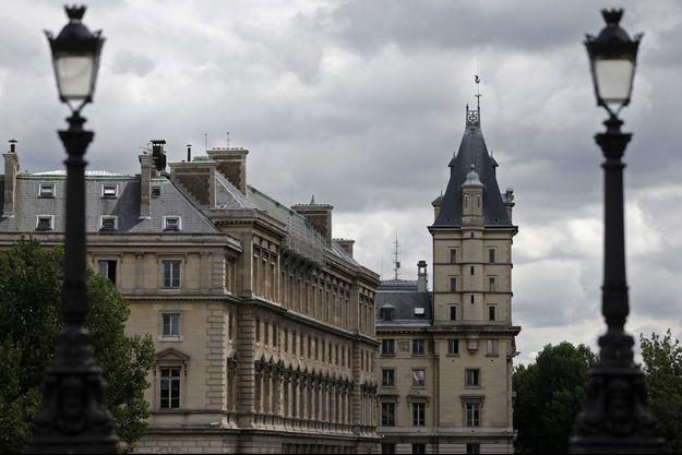 Le 36 quai des Orfèvres, à Paris, où ont été dérobés les 52,6 kg de cocaïne.