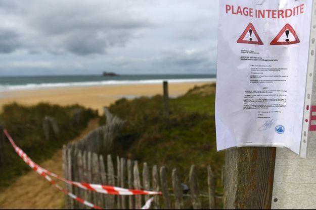 Une plage de Camaret-sur-Mer interdite après la découverte de cocaïne.