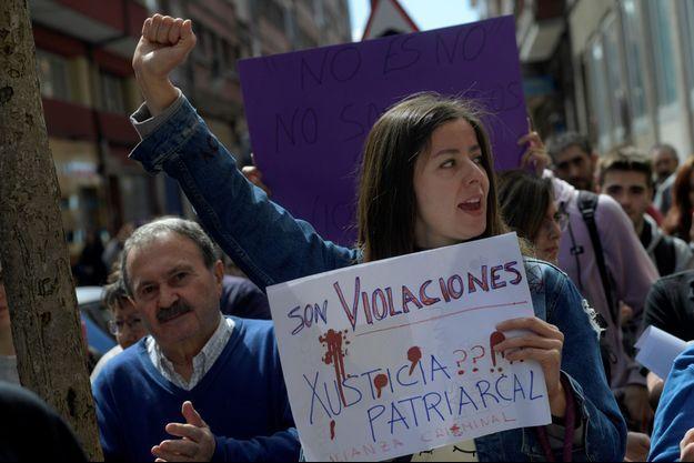 Une manifestation en Espagne.