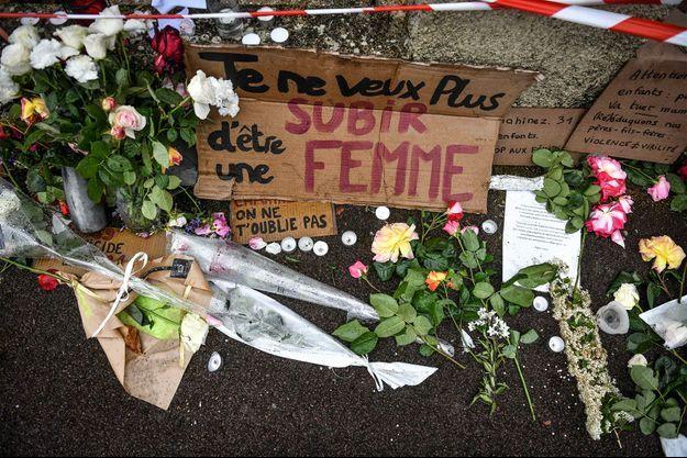 Des hommages à Mérignac après le meurtre d'une femme début mai, tuée par son conjoint. Image d'illustration.
