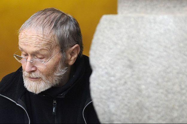 Maurice Agnelet après le verdict de son troisième procès, en avril 2014, à Rennes.