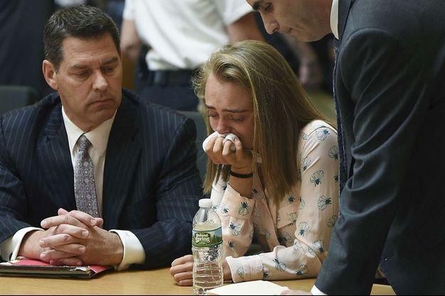 Michelle Carter lors de son procès en 2017.