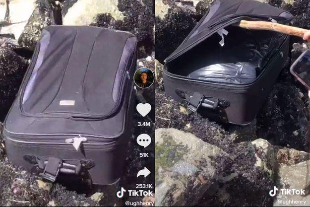 Une valise contenant des restes humains a été découverte par des adolescents à Seattle.
