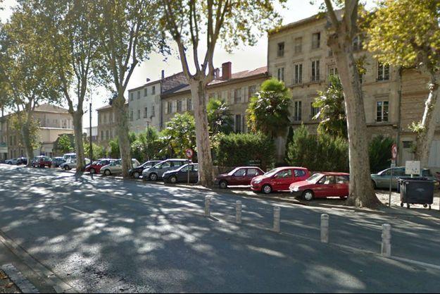 L'agression a eu lieu avenue du Général-de-Gaulle à Agen.