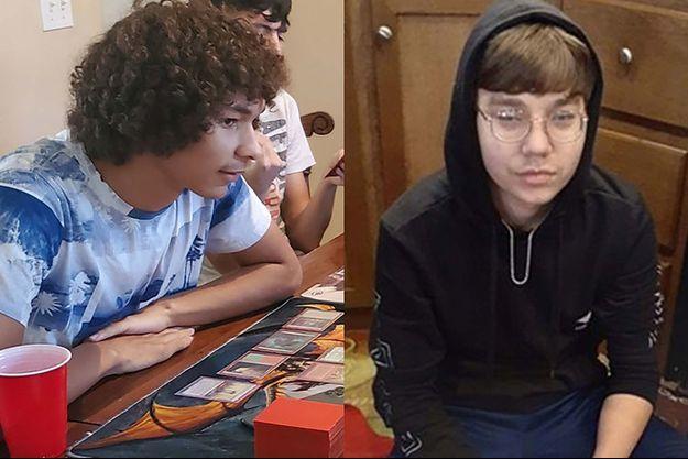 Prestin Wayne Nixon, 16 ans, et Isaiah Alexander Nelson, 17 ans.