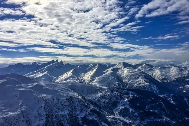 Des montagnes en Rhônes-Alpes (image d'illustration).
