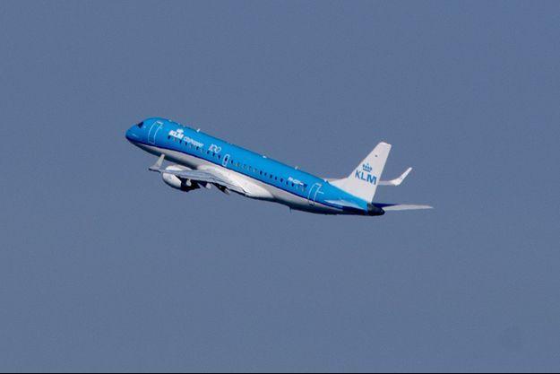 Un avion de la compagnie KLM (image d'illustration).