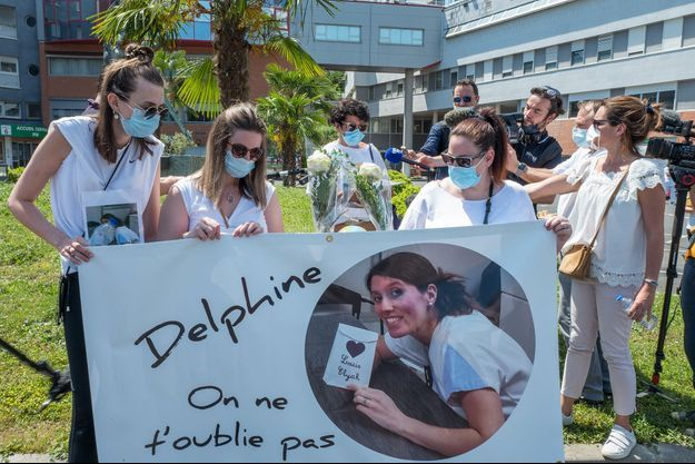 Une marche blanche organisée pour Delphine Jubillar, le 12 juin à Albi.