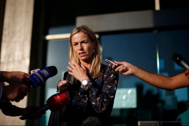 Kate McCann devant le tribunal de Lisbonne, en septembre dernier.