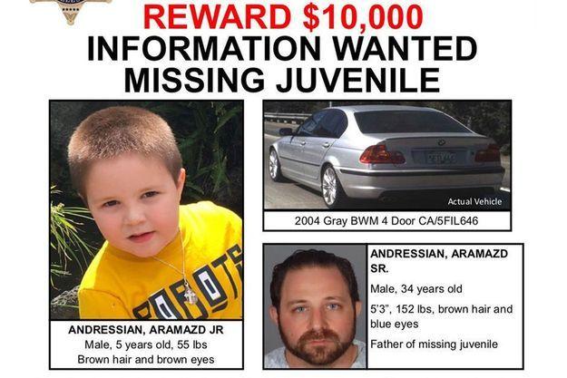 L'enfant a disparu depuis deux semaines.