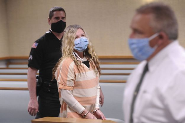 Lori Vallow au tribunal.
