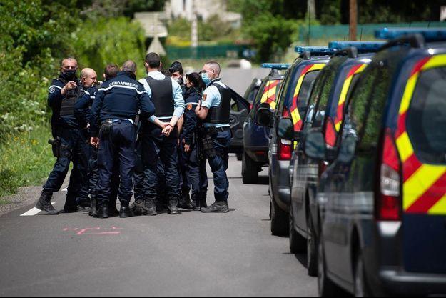 Plus de 350 gendarmes étaient mobilisés pour retrouver Valentin Marcone dans les Cévennes.