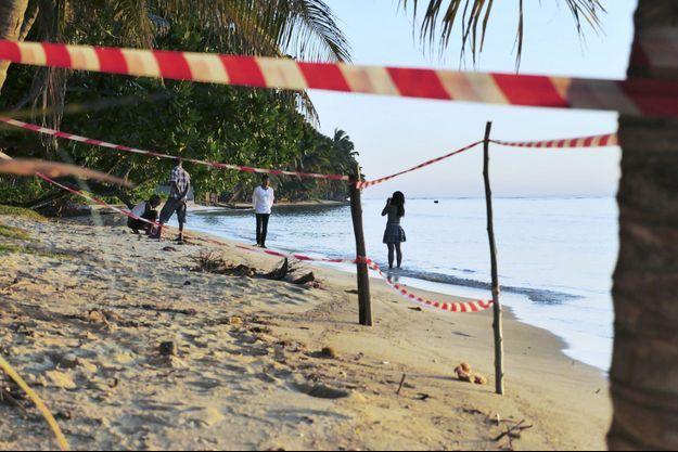 Le plage où ont été retrouvé les corps de Magalie et Romain.