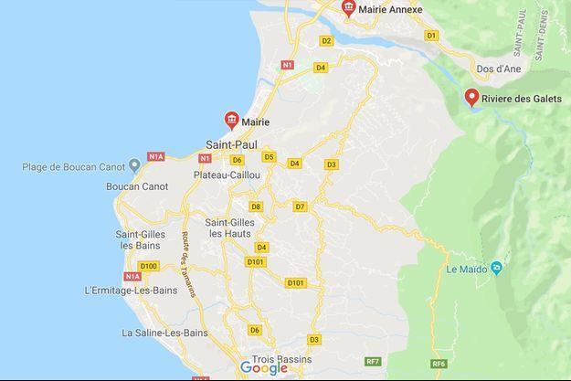 Le drame s'est produit à Rivière des Galets sur l'île de La Réunion.