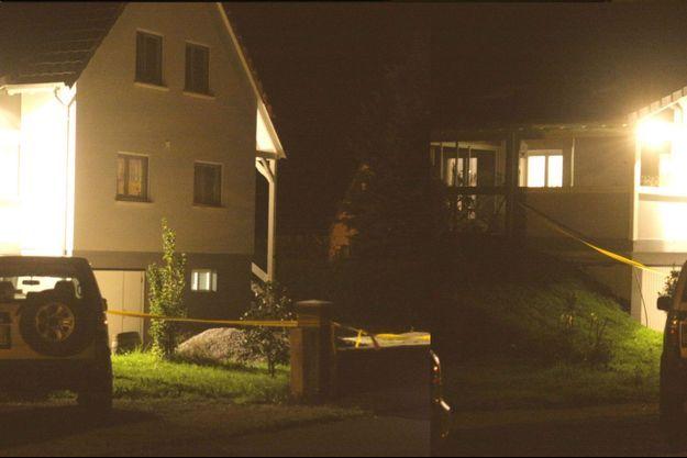 La maison familiale de Moernach, où a eu lieu le drame.