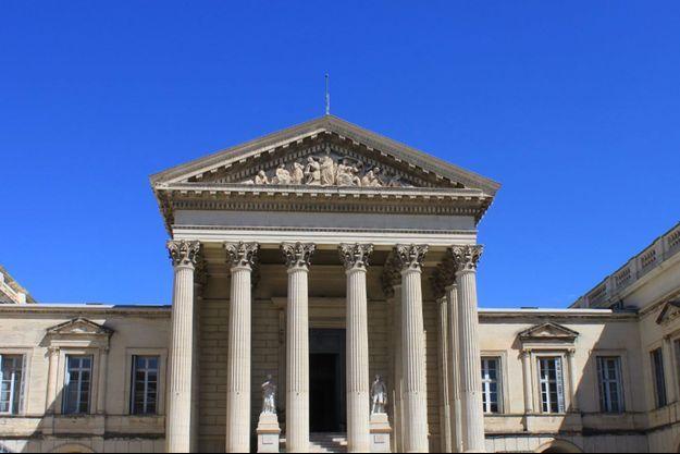 Le Cour d'assises de Montpellier.