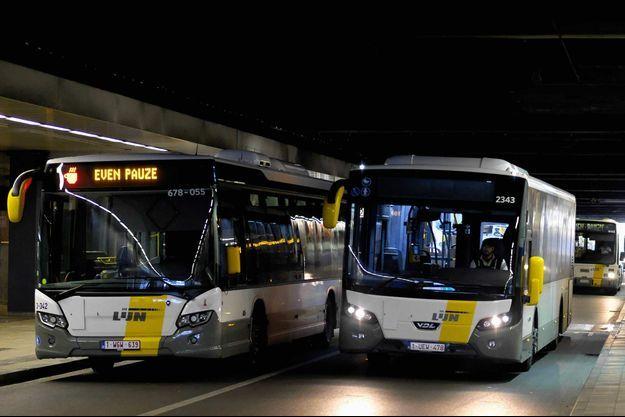 Un chauffeur de bus belge a été poignardé et se trouve dans un état grave (image d'illustration).