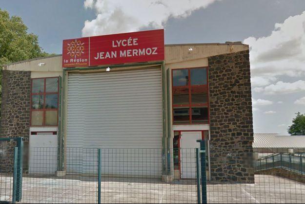 Lycée Jean Mermoz, à Béziers.