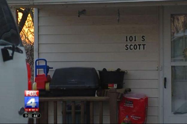 Le drame s'est déroulé dans cette maison du Missouri.