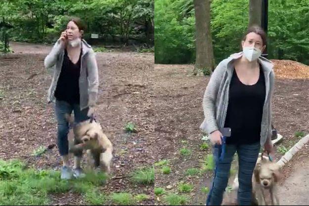 Amy Cooper a été filmée par Christian Cooper à Central Park.
