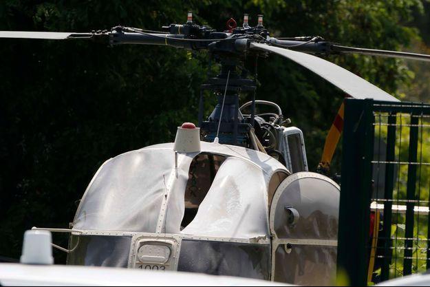 L'hélicoptère du braqueur récidiviste Redoine Faïd