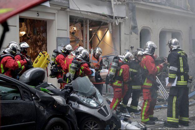 Explosion à Paris 9e