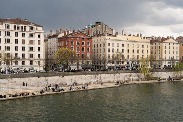 Un quai à Lyon (image d'illustration).