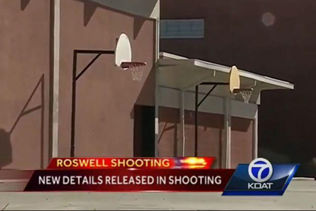 La fusillade a eu lieu mardi dans cette école du Nouveau-Mexique.