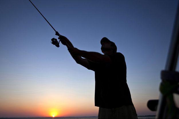 Un pêcheur en Aquitaine (image d'illustration).