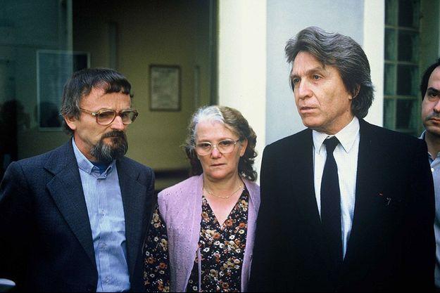 Albert et Monique Villemin en 1985.