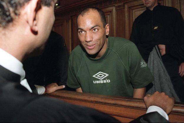 Guy Georges à son procès, en 2001