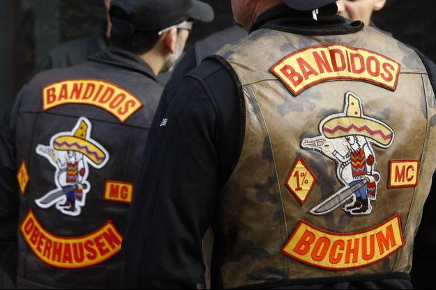 Les blousons des Bandidos (image d'illustration)