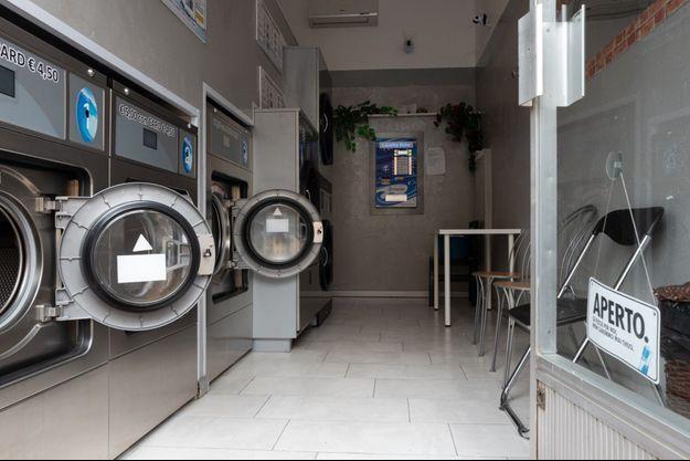Une laverie en Italie (image d'illustration).