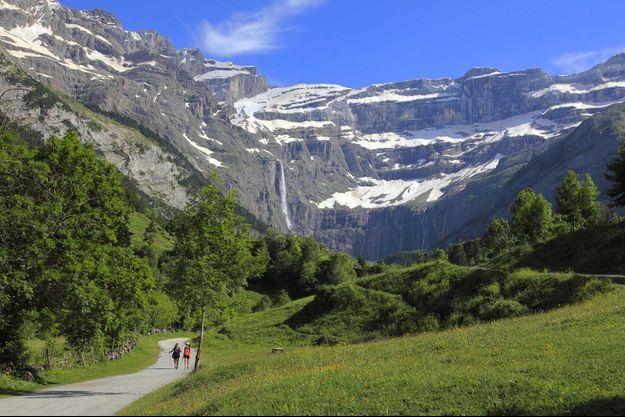 Une vue de Gavarnie-Gèdre dans les Hautes-Pyrénées.
