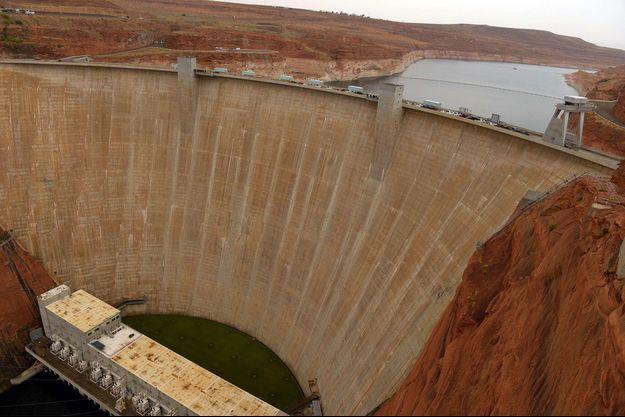 Le barrage de Glen Canyon.